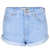 MOTO Blue High Waisted Hotpants - Hotshop  - Clothing  - Topshop