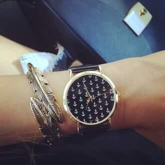 jewels montre jewelry bracelets feathers