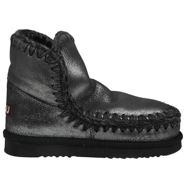 Mou women shoes black