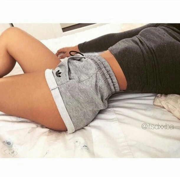 adidas girls shorts