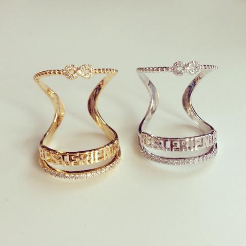louun — Best Friends Wire Ring