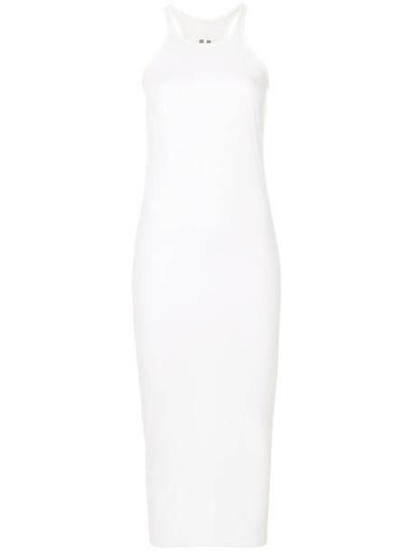 Rick Owens dress women white silk