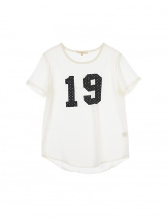 blouse 19 jersey t-shirt white white blouse corp top summer number 19 trendy vintage hipster dope cool girly style boho grunge top white top sexy beach blogger edgy pretty swag instagram tumblr preppy beautiful spring number tee quote on it office outfits native american