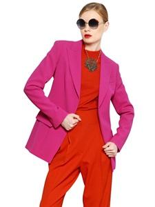 Viscose blend cady jacket
