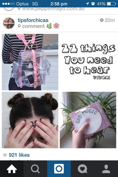 bag where can i get this clear bag