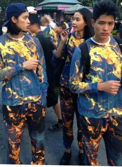 clothes hot unisex