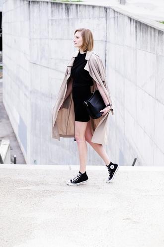 katiquette blogger jewels shoes coat shirt skirt