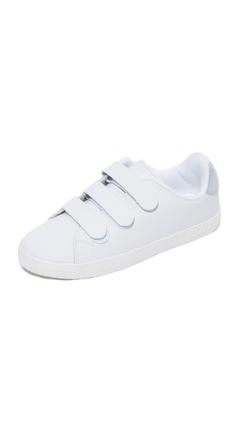 Tretorn Carry Ii Velcro Sneakers - Vintage White/Silver