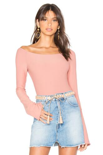 bodysuit blush underwear