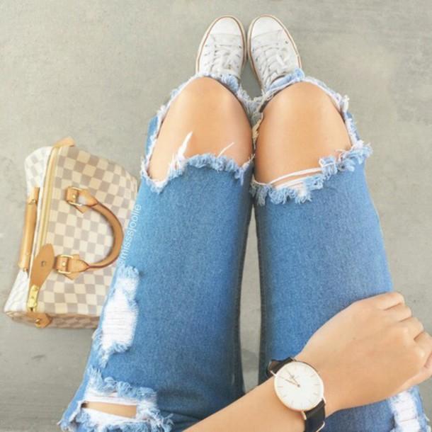 jeans denim jeans acid wash jeans cutted