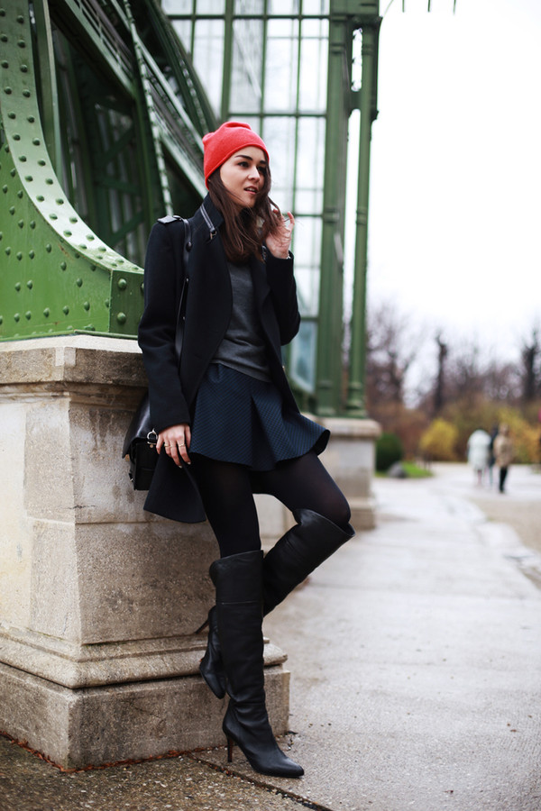 style scrapbook skirt sweater shoes hat bag