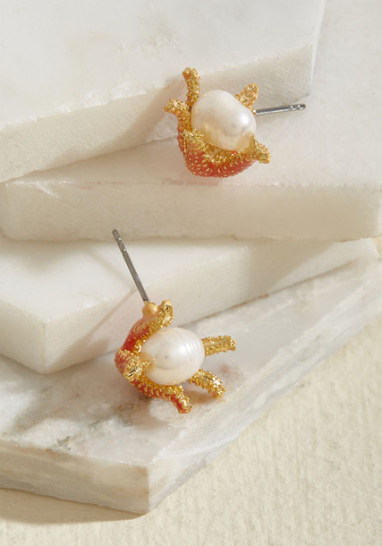 starfish earrings jewels