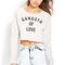 Gangsta of love sweatshirt | forever 21 canada