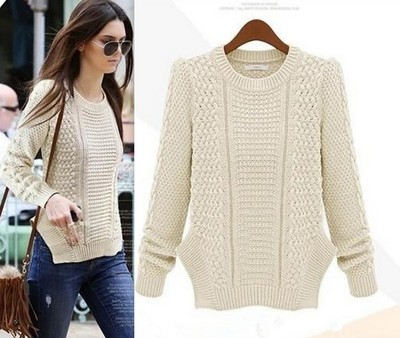 Kendall beige knit sweater · love, fashion struck ·