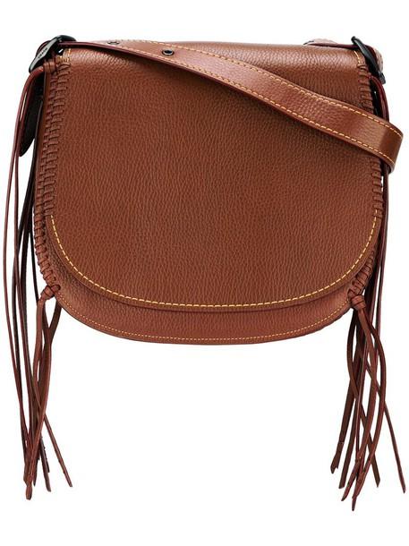 coach women bag crossbody bag leather brown