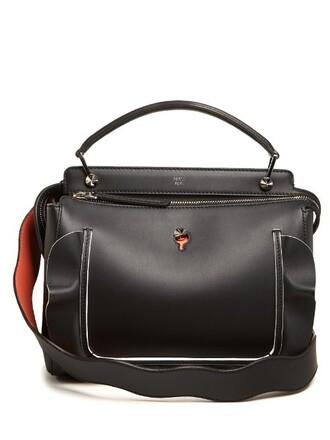 embellished bag leather bag leather black