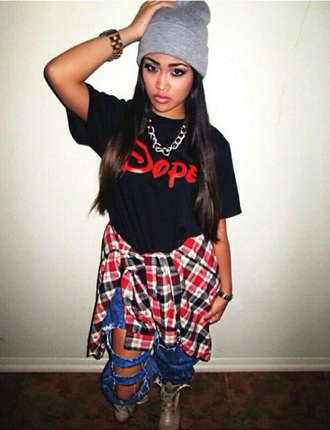 dope disney swag jeans beanie pants shirt tshirt dress shoes makeup bag jewels jewelry t-shirt