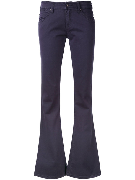 ARMANI JEANS jeans flare jeans flare women spandex cotton blue