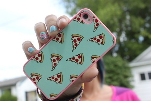 jewels pizza phone cases phone iphone case iphone4 iphone 4s case iphone iphone 4 food