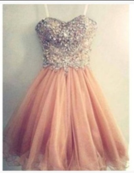 dress glitter dress seguin dress peach dresses beautiful dress fluffy dress beautiful princess dress princess wedding dresses