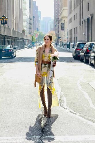 louise roe blogger sunglasses dress shoes bag belt jewels