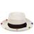 White Dumont Calado Pom Pom Hat