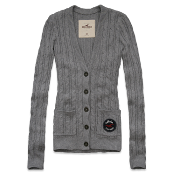 Hollister Co. - Shop Official Site - Bettys - Sweaters - Cardigans - Mission Beach Sweater