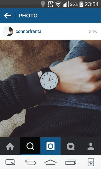 watch clock accessories women black white beautiful jewelry accessory