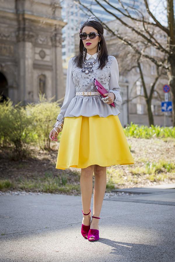 macademian girl t-shirt skirt shoes belt dress sunglasses jewels