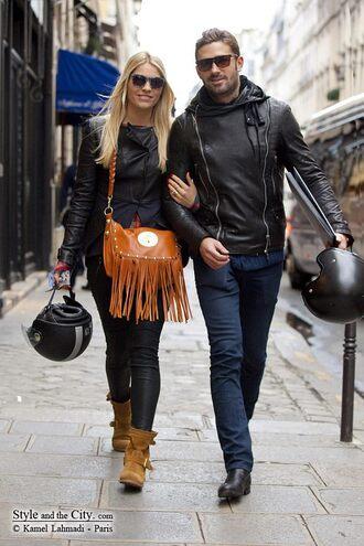 perfecto cuir leather jacket menswear black zip