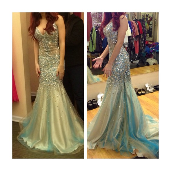 dress prom dress long prom dress mermaid prom dress glitter dress sequin dress sparkly dress gold gold sequins