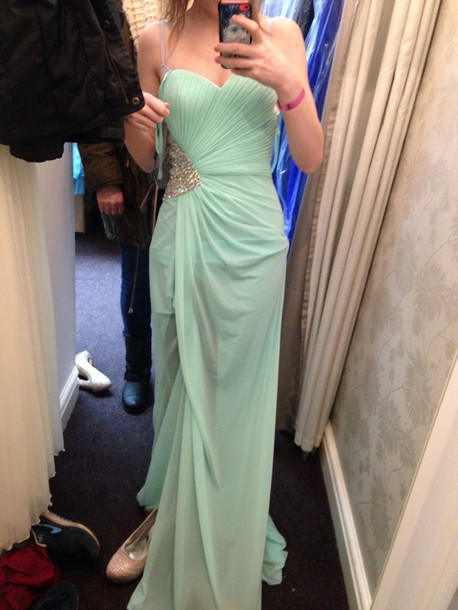 dress strapless dress prom dress long dress mint mint dress coral dress backless dress dress embellished dress