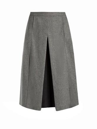 culottes grey pants