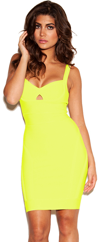 dress dream it wear it yellow lime neon neon dress neon yellow yellow dress bandage bandage dress v neck v neck dress summer summer dress cut-out cut-out dress cut-out dressses bodycon bodycon dress party party dress sexy sexy dress free shipping free shipping dress summer outfits girly romantic summer dress pool party