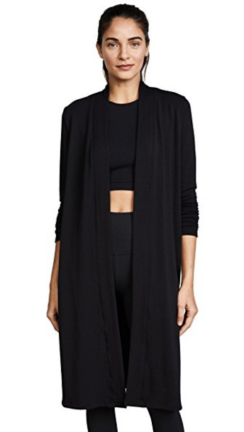 Beyond Yoga cardigan cardigan high black sweater