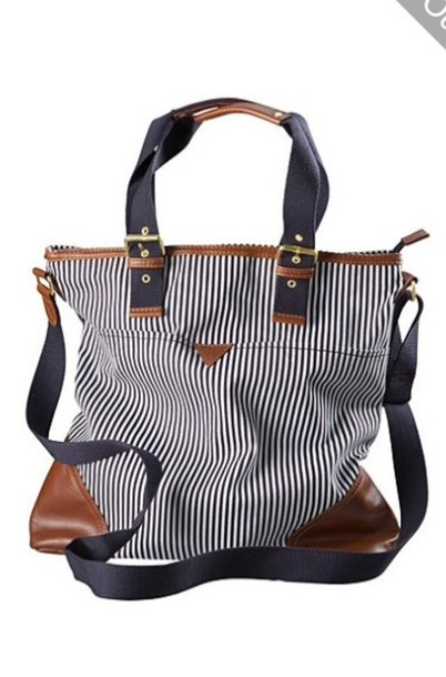 bag stripes purse