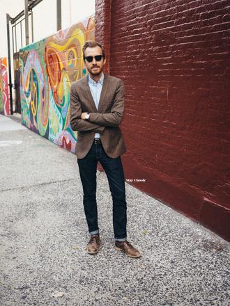 stay classic blogger classy menswear mens blazer