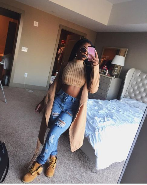 top jeans ripped jeans knitwear ribbed camel coat brown nude