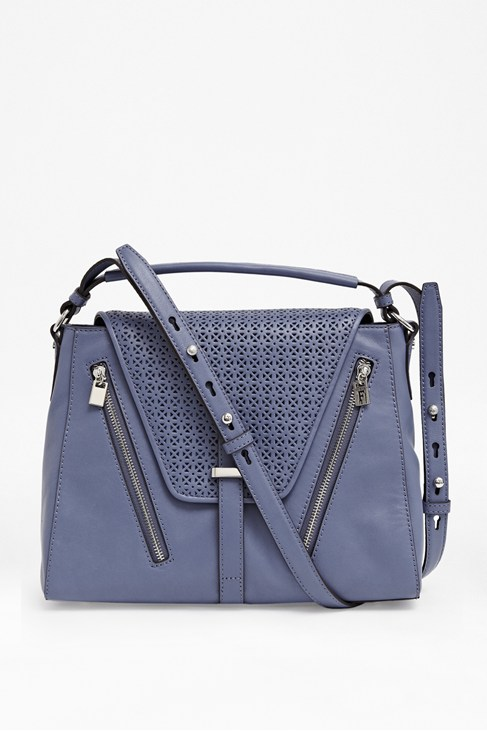 Zoe Leather Structured Satchel - Sale - French Connection Usa