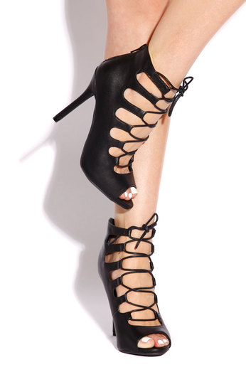 Fashionably Late - Black - Lola Shoetique