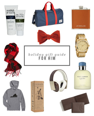 alicia tenise blogger holiday gift mens accessories gift ideas mens hoodie bowtie mens watch
