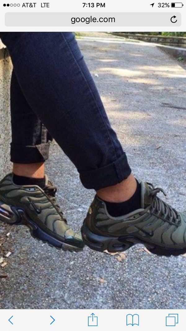 "best website 951fc a5366 ... Nike Air Max Plus Tuned 1 Tn ""Olive Green"" Unisex Trainer Limited  Edition . ..."