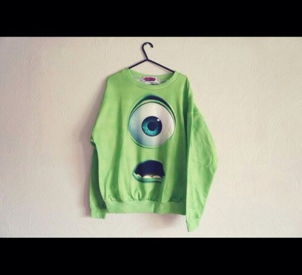 sweater monsters inc