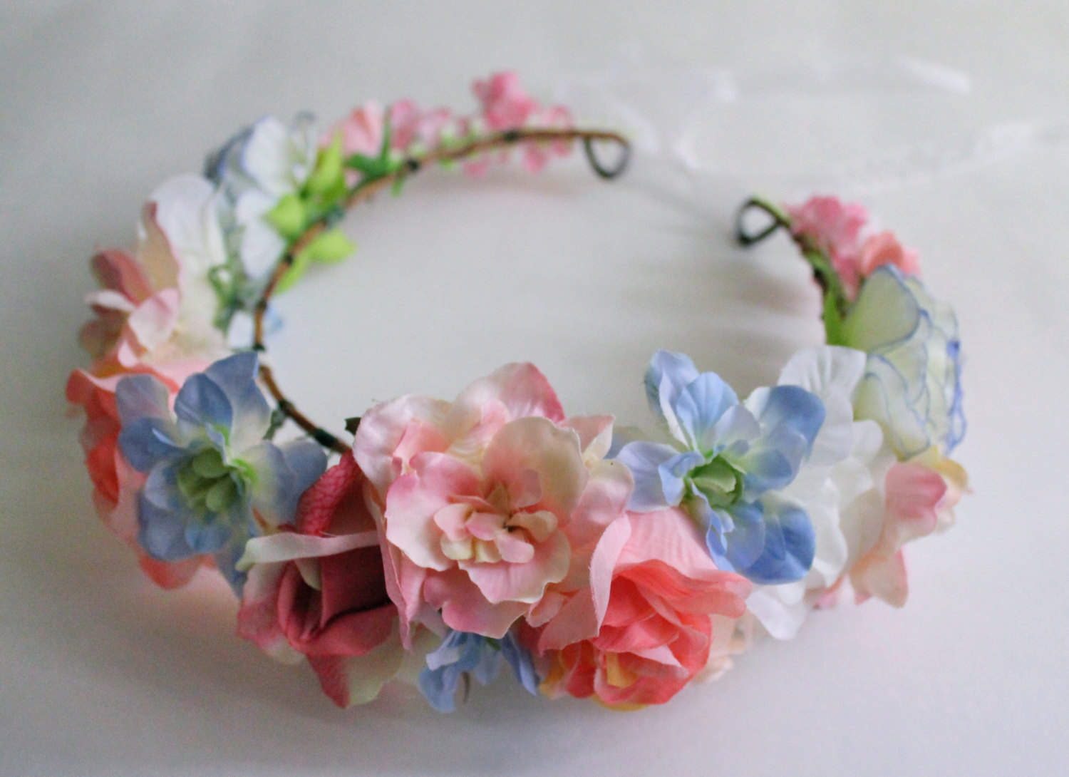 Pink Flower Crown fbd597047c5