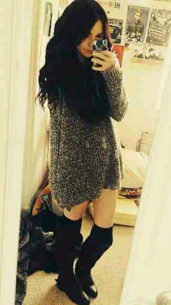 dress sweater dress