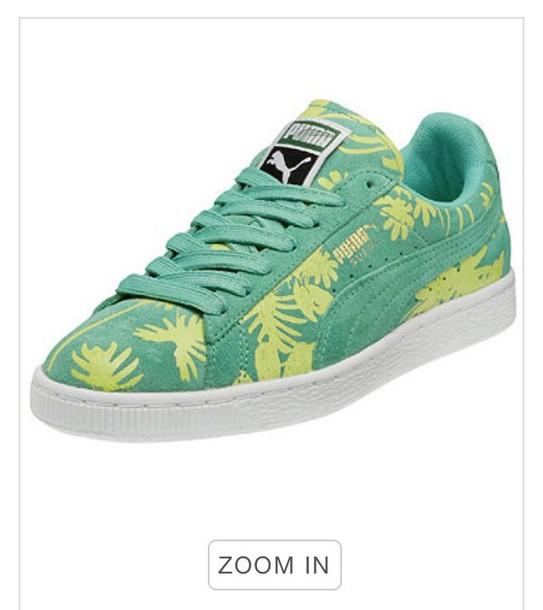 shoes suede pumas