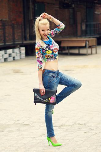 meri wild t-shirt jeans jewels bag shoes