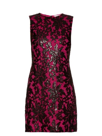 dress black pink