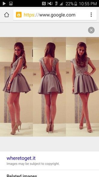 dress beige dress