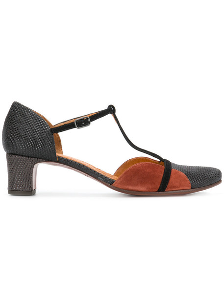 Chie Mihara women pumps leather brown shoes